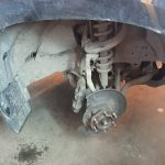 Ремонт машины Toyota Land Cruiser Prado замена ступицы