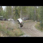 Jari-Pekka Ralli 2019, Heinola. (crash & action)