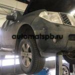 Nissan Pathfinder замена АКПП