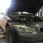 Замена шланга системы охлаждения BMW